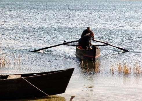Αμύνταιο Λίμνη βαρκάρης